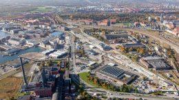 PRESSEMEDDELELSE Jernbanebyen Koebenhavn taettere paa groen moderne bydel