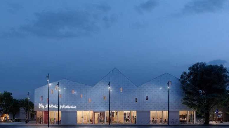 PRESSEMEDDELELSE Vibys kommende kulturhus bygger paa FNs verdensmaal