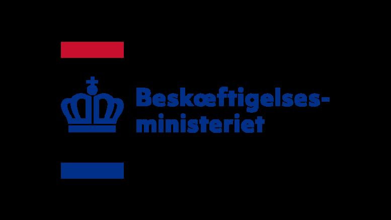 Pressemeddelelse Beskaeftigelsesministeriet Logo 2