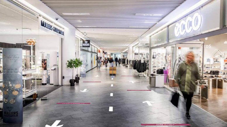 PRESSEMEDDELELSE Sikker og forsvarlig genaabning af de danske shoppingcentre