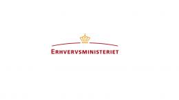 Pressemeddelelse Erhvervsministeriet Logo 1 2