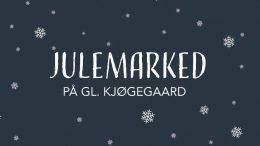 PRESSEMEDDELELSE Julemarked paa Gammel Kjoegegaard aflyses