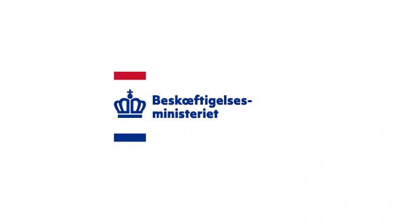 Pressemeddelelse Beskaeftigelsesministeriet Logo 800x500 2