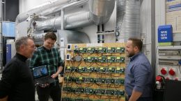 PRESSEMEDDELELSE Innovative soenderjyske virksomheder har banet vejen til energibesparelser med Internet of Things