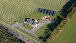 PRESSEMEDDELELSE Forsyningsselskab bliver foerste sommerfuglepartner i Esbjerg Kommune