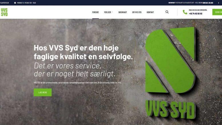 PRESSEMEDDELELSE Kendt ansigt starter nyt VVS firma i Soenderjylland