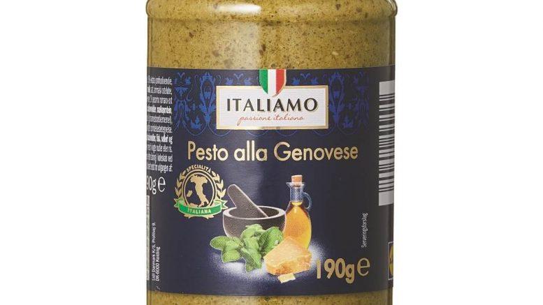 PRESSEMEDDELELSE Vigtig kundeinformation vedroerende Italiamo Pesto alla Genovese 190 gram